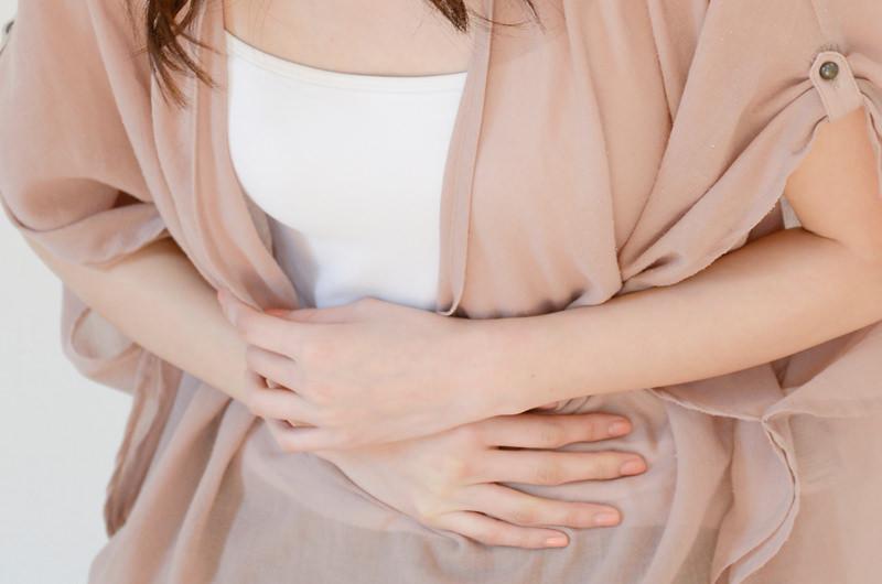 胃粘膜で炎症が起こった状態です